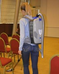 LB4 Superleggera, the new backpack vacuum cleaner unique on the market