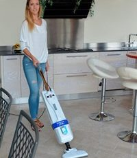 LINDA, carpet cleaner for domestic use with the same performance as a professional machine